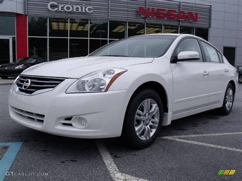 nissan altima white 2010 2010 winter frost white nissan altima 2 5 s 19885413