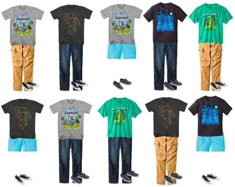 Wardrobe For Boys by Minecraft Clothes For Boys