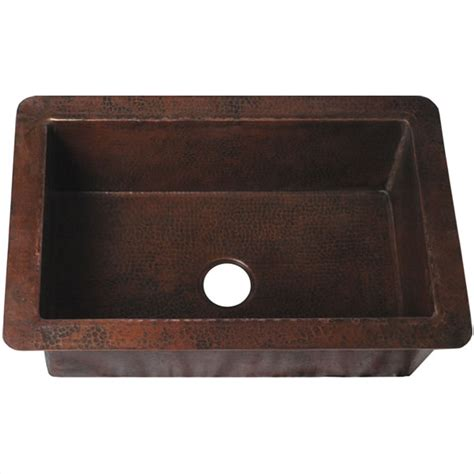 brown kitchen sink mexican tile cocina undermount copper kitchen sink