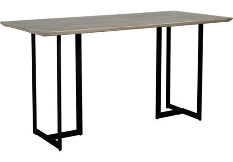 gray counter height table jansen gray counter height dining table dining tables colors