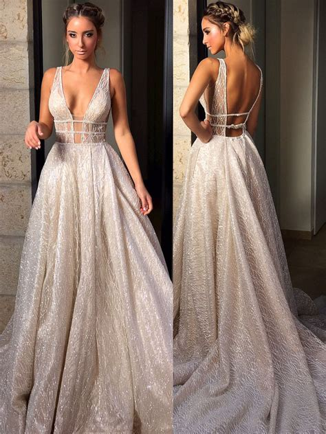 dress ballo sparkly a line prom dress gown