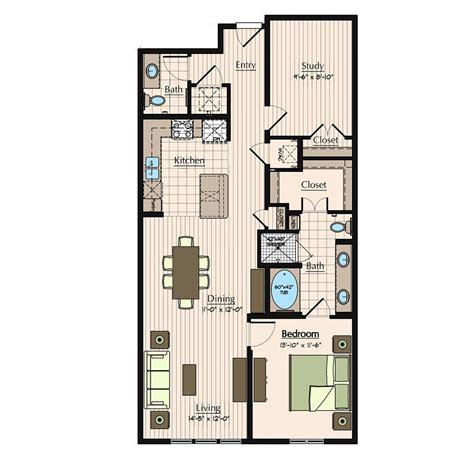 1 bedroom study apartments in houston floor plans 1900 yorktown luxury galleria apartments in
