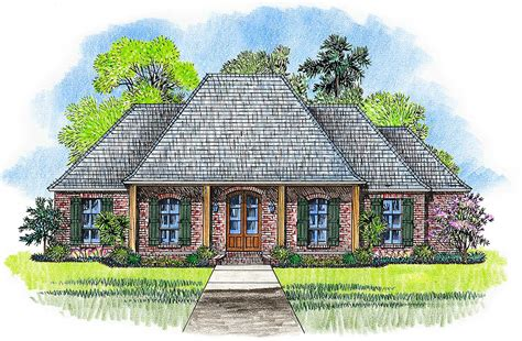 acadian home plans acadian house plan with pine beam accents 56384sm 1st