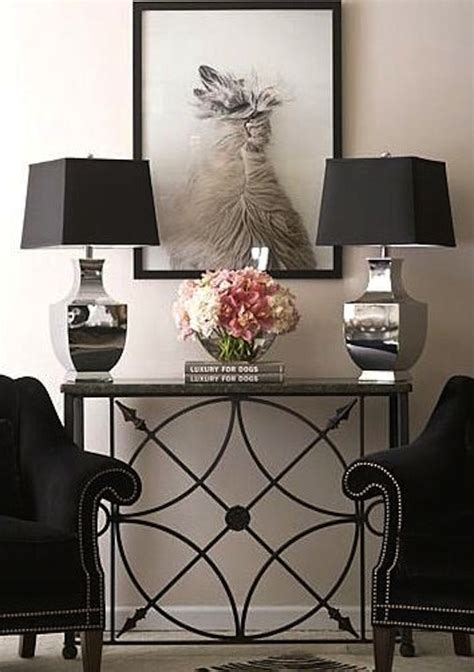 Living Room Console Tables Living Room Console Table Ideas Tips Artisan Crafted Iron Furnishings And Decor