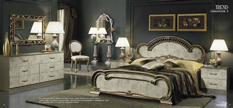 trend italian classic bed bedroom sets
