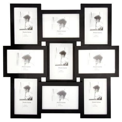 4 X 9 Picture Frame by Wilko Black Multi Aperture Photo Frame 9 X 6 X4in Wilko