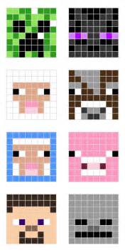 minecraft cow template minecraft character pixel templates minecraft