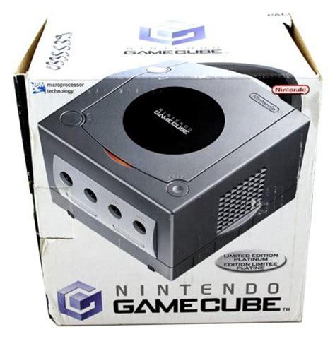 gc console console gamecube platine en bo 238 te gc console