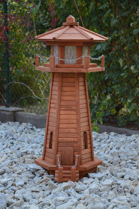 decorative lighthouses for in home use how to build a 4 ft wooden lawn lighthouse diy wood plans