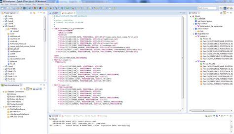 file section in cobol exle creating cobol test data in rowgen iri