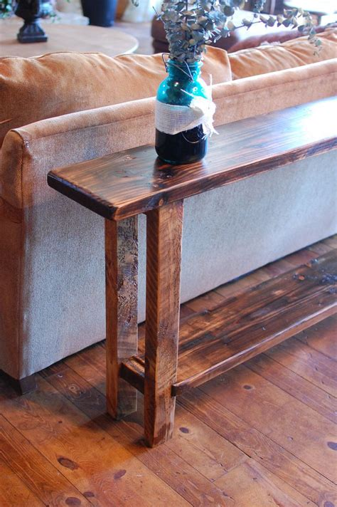 The Kristy Sofa Table Primitive Sofa Table