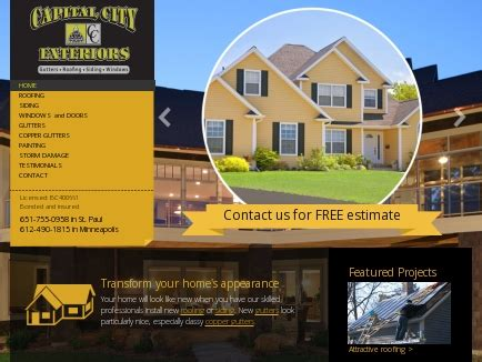 capital city exteriors home improvement st paul mn