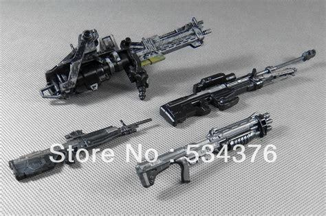 figure guns mcfarlane halo 4 weapon marksman sniper shotgun rifle