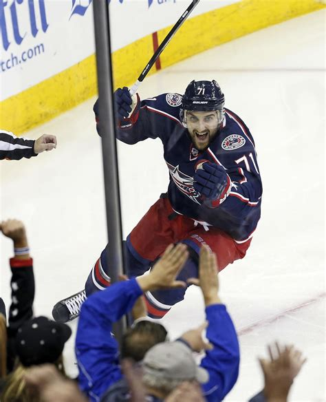 columbus dispatch sports section blue jackets 2014 playoffs delivered goosebump moments