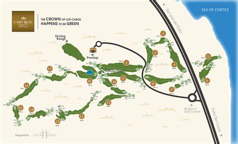 san jose golf map course layout