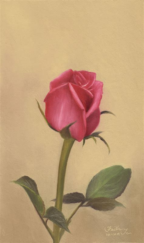 pink rosebud painting giveaway contests and giveaways