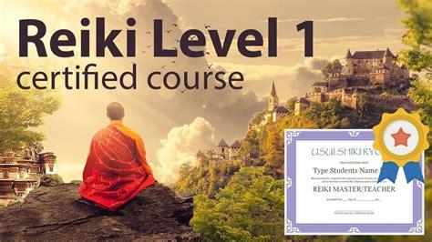 reiki  level  diploma    minutes youtube
