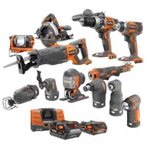 ridgid 18 volt lithium ion ultimate contractor kit 13