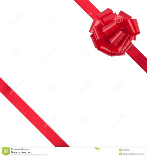 present with ribbon and bow stock images image 22498234