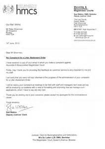 m40 court letter 14th june 2010 clean highways