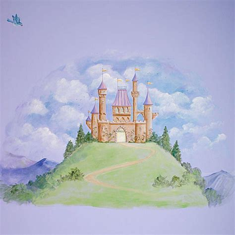 Fairytale Wall Murals disney castle backgrounds wallpaper cave
