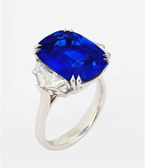 Blue Light Saphire Burma 4 15ct unheated burma royal blue sapphire platinum ring
