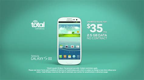 total wireless overprices  galaxy  iii
