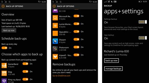 windows 10 mobile agora conta mais controle sobre