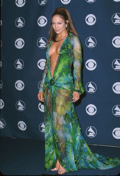 Would You Wear Lantern Sleeves Like J Lo by S Iconic Grammys Dress Can Pretty Much Be
