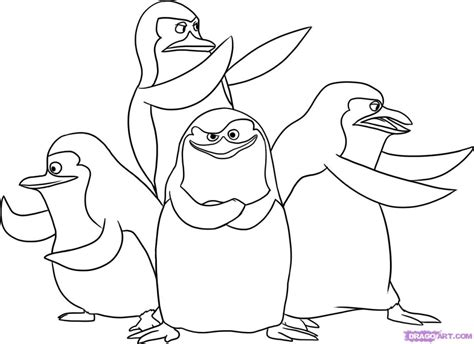 penguins movie coloring pages madagascar penguins coloring pages az coloring pages
