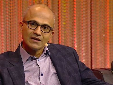closer look at microsoft s satya nadella business insider