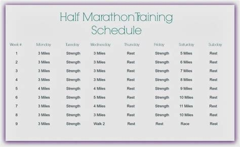 To Half Marathon Schedule by Disney Princess Half Marathon Schedule Run