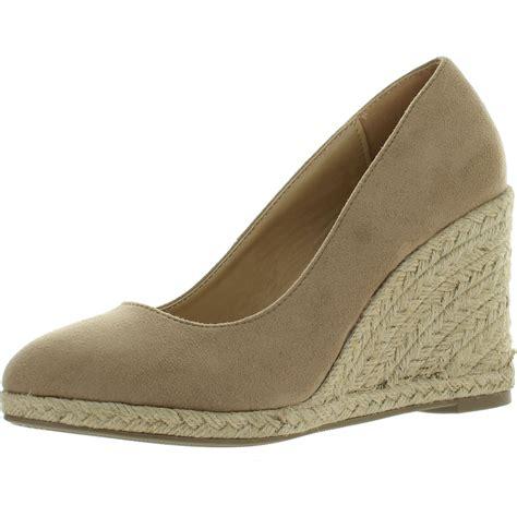 Wedges Sofiya Import 2 delicious womens parma toe espadrille wedge slip on sandals ebay