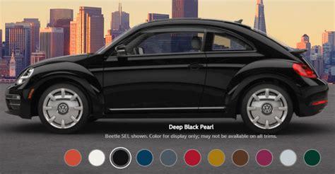 volkswagen beetle colors 2017 2017 volkswagen beetle exterior color options