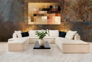 home accents wall: home decorating with modern art  white sectional sofajpg home decorating with modern art