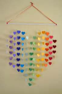 Handmade Wall Hanging For Birthday - large rainbow mobile wall hanging baby shower