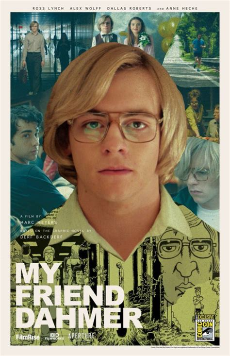 my friend dahmer my friend dahmer poster 1 of 2 imp awards