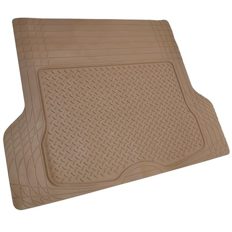Car Trunk Mats by Suv Floor Mat For 3 Row Car All Weather Beige Trimmable