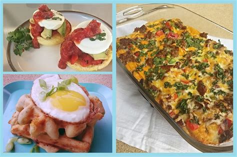 savory breakfast recipes with glutino the healthy home cook