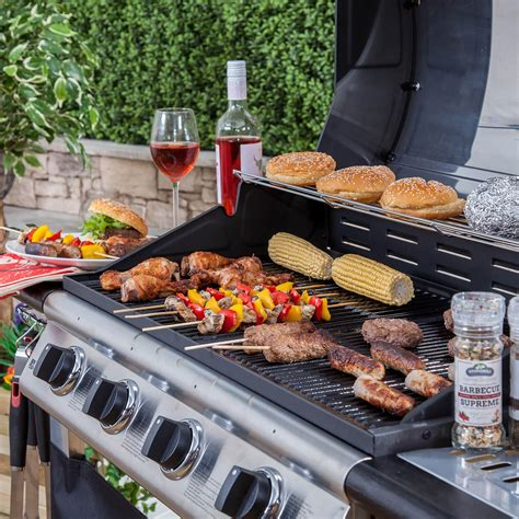 Four A Barbecue by Everest 4 Burner Gas Barbecue