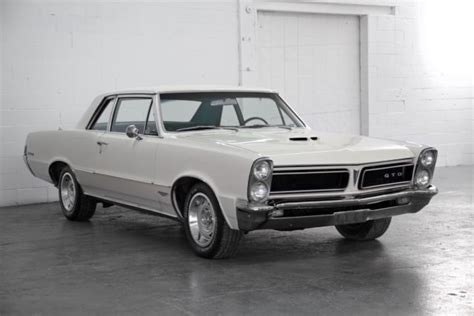 1965 pontiac gto lemans tribute 389 tri power v8 4 speed manual bucket seats