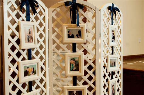 how to make wedding arbor out of lattice backdrops