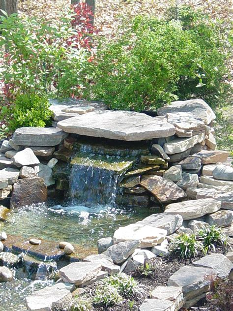 building a waterfall small garden ponds backyard pond pond