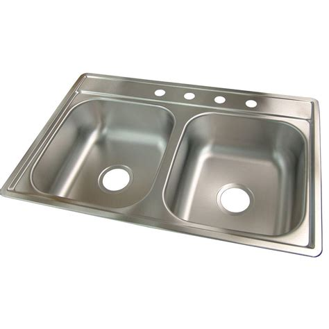 frankeusa sinks frankeusa fhp drop in satin stainless steel 33 inch