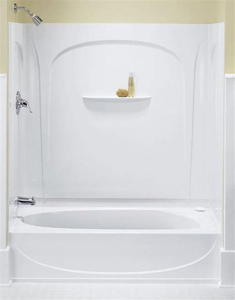 sterling bath shower sterling kohler 71090110 0 white series 7109 acclaim tub shower phwarehouse