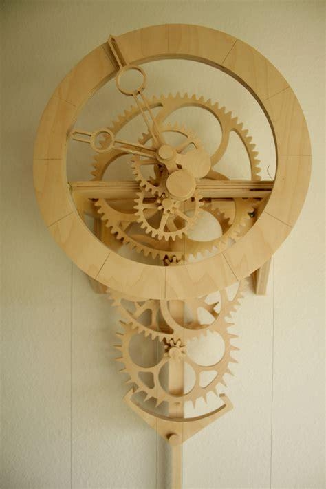 diy wooden clock plans clayton boyer   wood