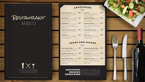 menu design exles restaurants restaurant menu template 25 free premium download