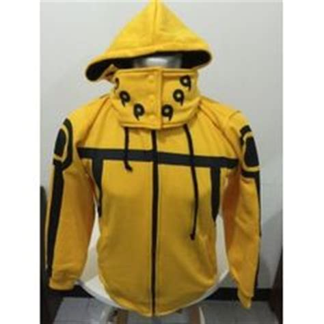 Jaket Anime Kyubi Seal Orange yellow bijuu hoodie sweater anime clothing anime and anime