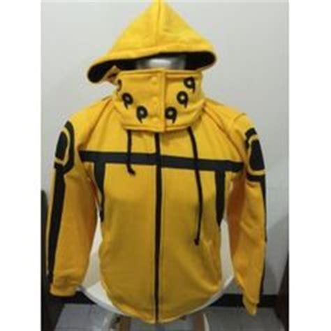 yellow bijuu hoodie sweater anime clothing