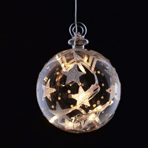 weihnachtskugeln mit licht sirius leuchtkugel batteriebetrieben 8 led 216 10